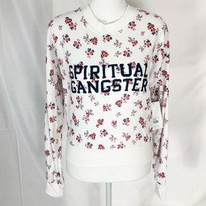 Spiritual Gangster Crew Neck Sweatshirt Small